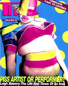 Leigh Bowery - Thud Mag #122 cover © Alex Gerry