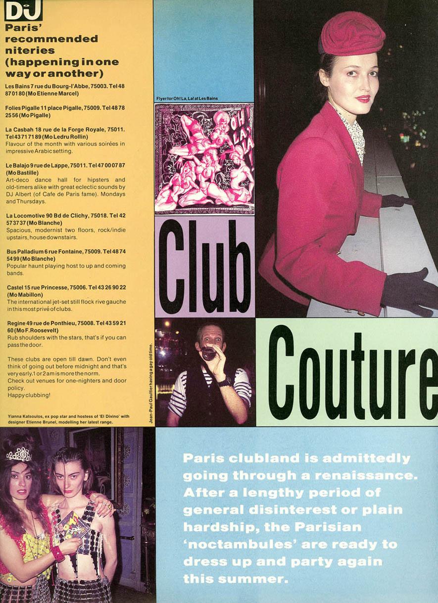 Paris Clubs1 DJ Mag text & Photos @ Alex Gerry